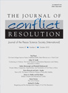 Joural of Conflict Resolution
