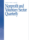 Nonprofit and Voluntary Sector Quarterly