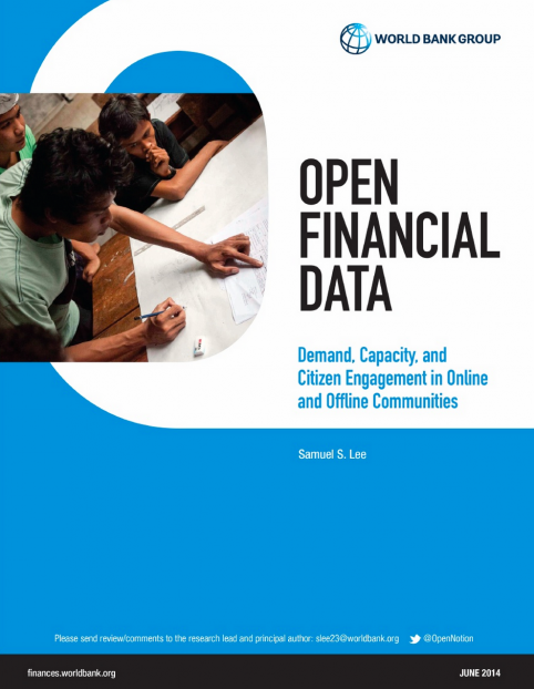 The World Bank Group's Open Financial Data 2014 Publication