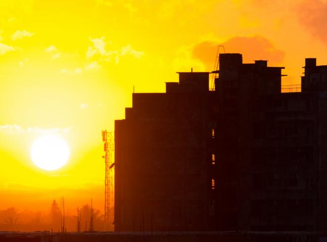 Sunrise in Beira, 2011. Photo by Andrew Moore/Flickr.