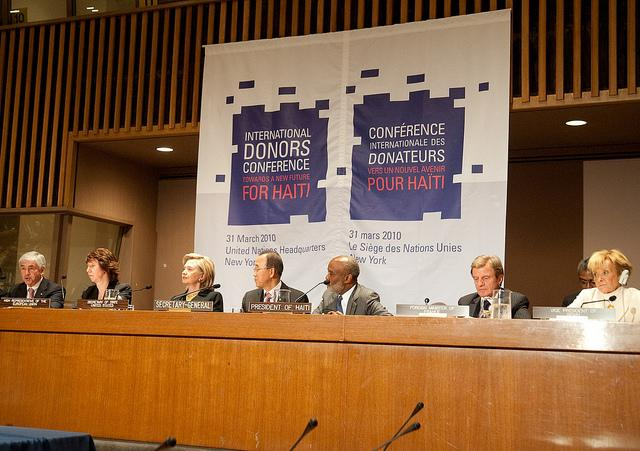 Towards a New Future for Haiti International Donors' Conference