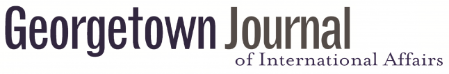 Logo for the Georgetown Journal of International Affairs
