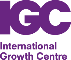 Logo for the International Growth Centre