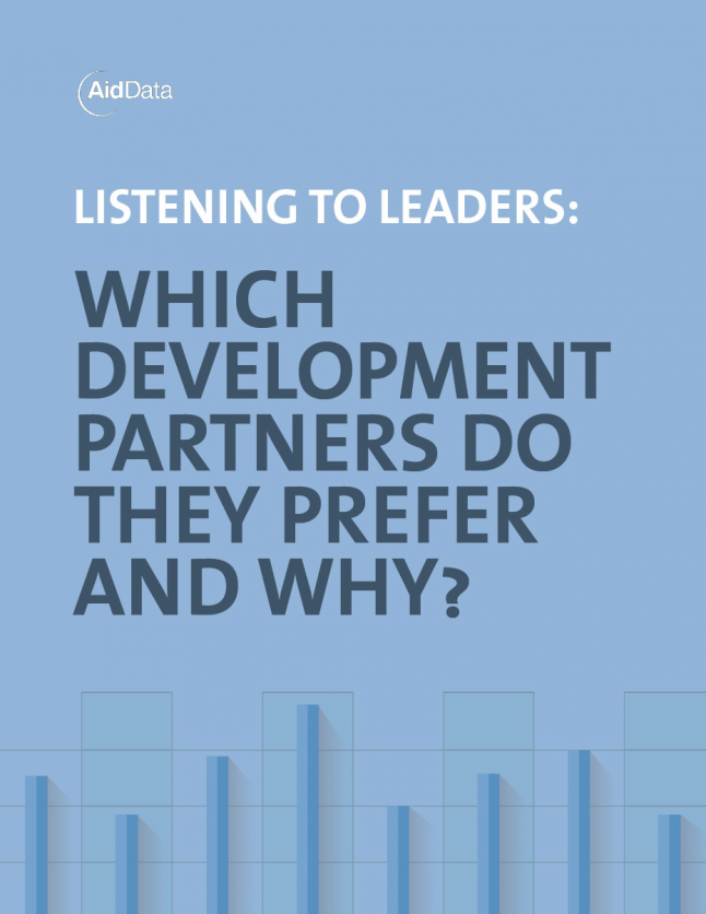 Cover art for Listening to Leaders report