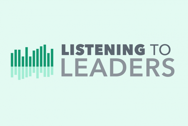Listening to Leaders graphic