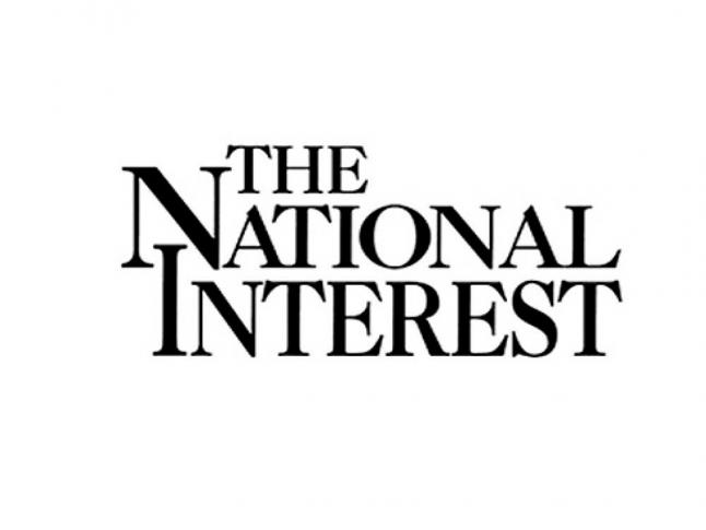 Logo for the publication, The National Interest