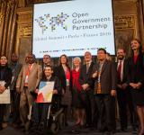 Attendees at the 2016 Open Government Partnership Global Summit in December in Paris, France. Photo by Evan Abramson for the Open Government Partnership, in the public domain.