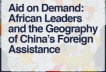 Georgaphy if China Foreign Assistance