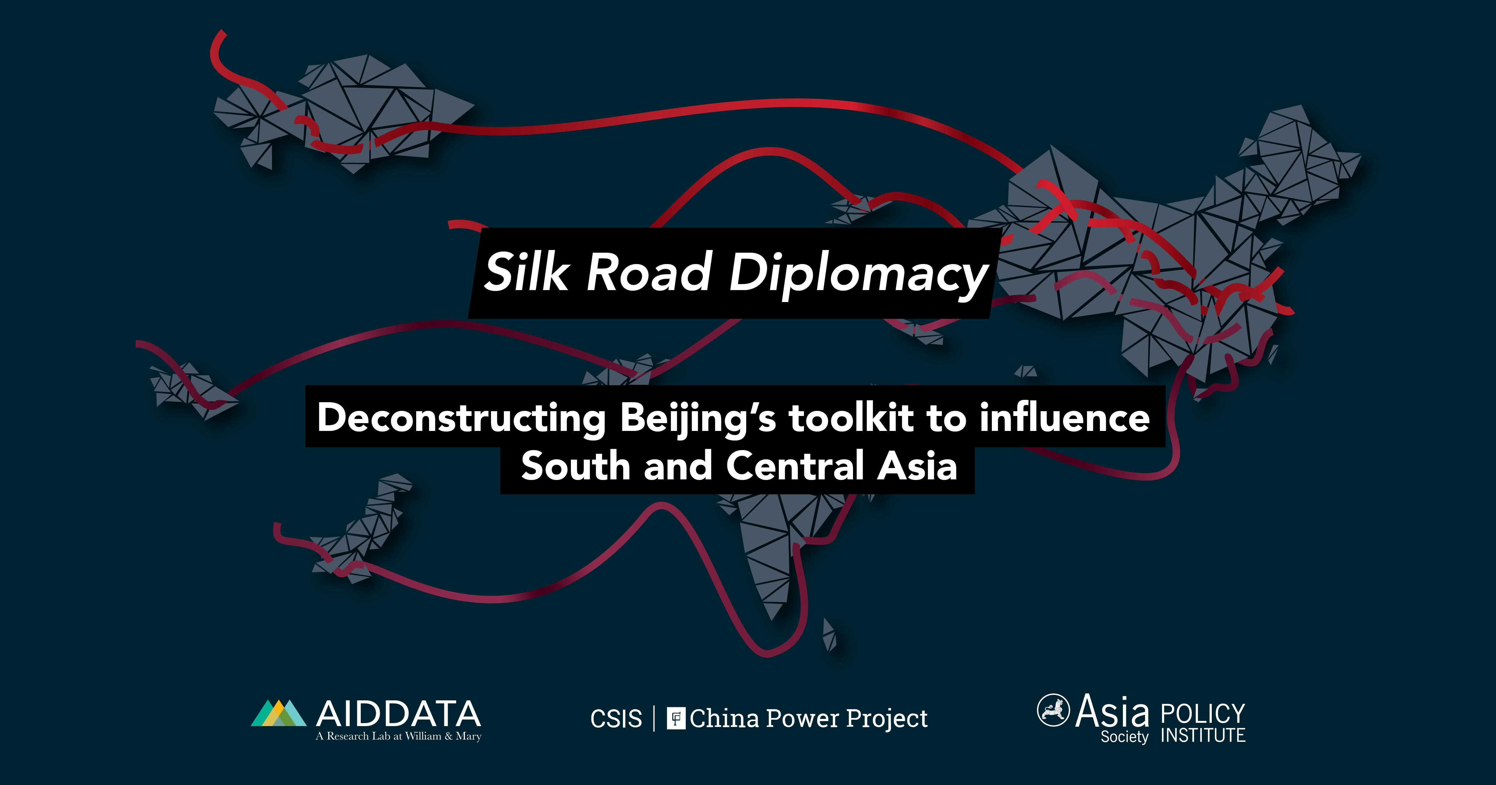 cover art of the report, Silk Road Diplomacy